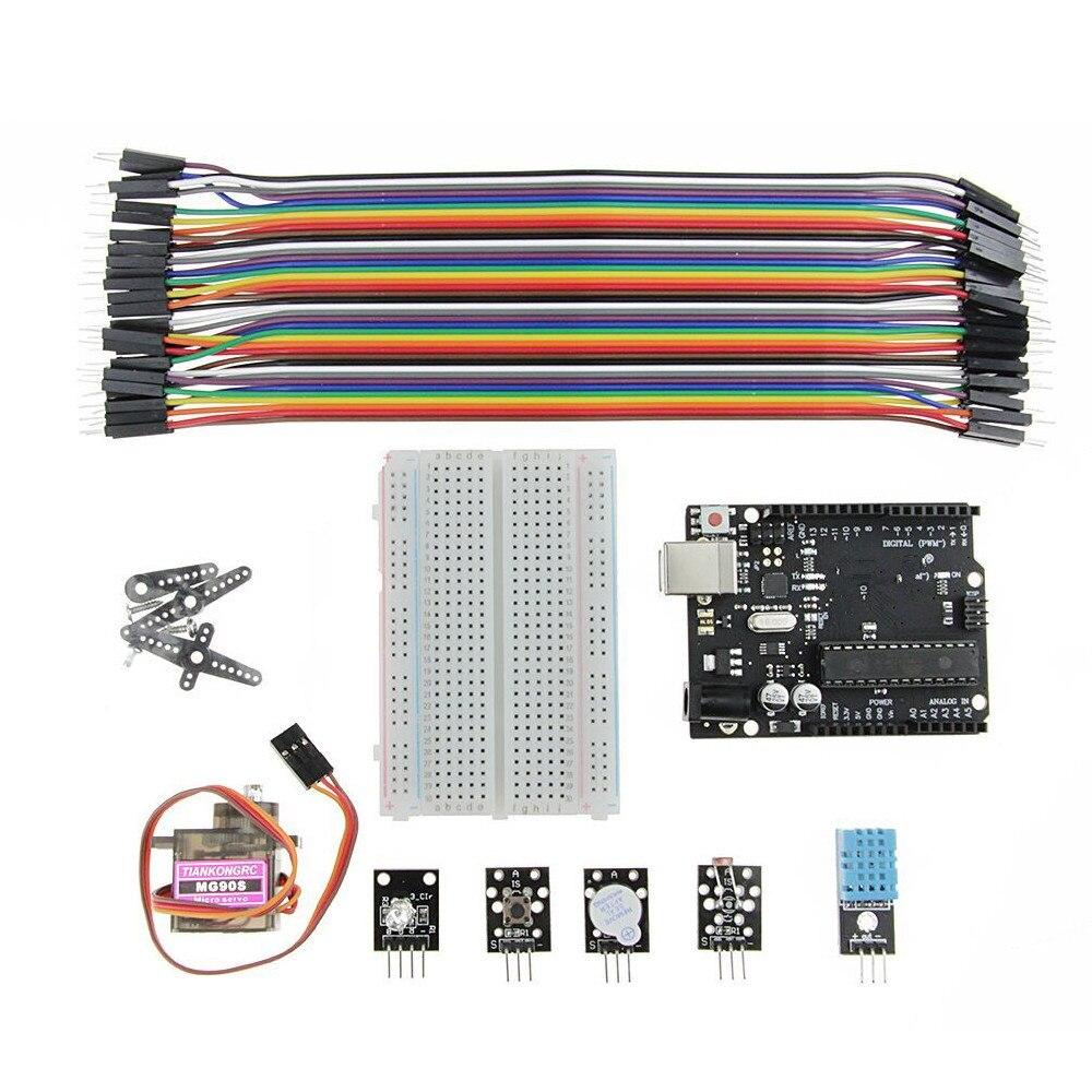 Per UNO Starter Kit microcontrollore bordo di sviluppo del progetto modulo insegnamento suite di Circuiti IntegratiPer UNO Starter Kit microcontrollore bordo di sviluppo del progetto modulo insegnamento suite di Circuiti Integrati