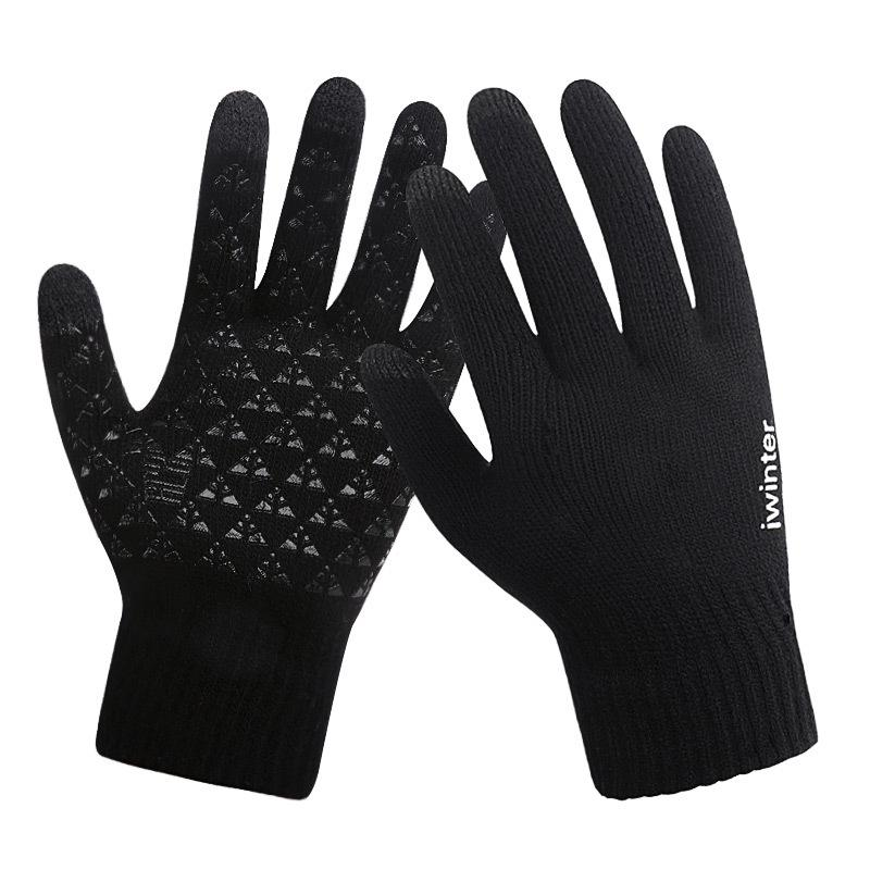 Weimostar Touchscreen <font><b>Bike</b></font> Handschuhe <font><b>Winter</b></font> Thermische Winddicht Warme Voll Finger Radfahren Handschuhe Nicht-slip Fahrrad Handschuh Für Männer frauen image