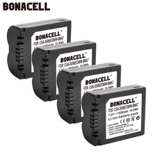 Bonacell 1500 мА/ч, CGA-S006 CGR CGA S006E S006A S006 DMW-BMA7 Камера Батарея/USB кабель для Panasonic Lumix DMC FZ7 FZ8 FZ18 FZ28 FZ50 FZ30 L50(China)