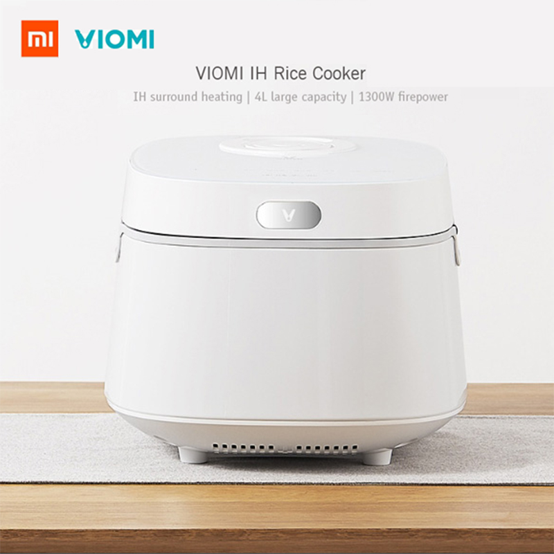 Xiaomi VIOMI 1300W 4L Large Capacity Electric Rice Cooker Pot Automatic Non-Stick Multicooker Kitchen Appliances VXFB40A - IHXiaomi VIOMI 1300W 4L Large Capacity Electric Rice Cooker Pot Automatic Non-Stick Multicooker Kitchen Appliances VXFB40A - IH