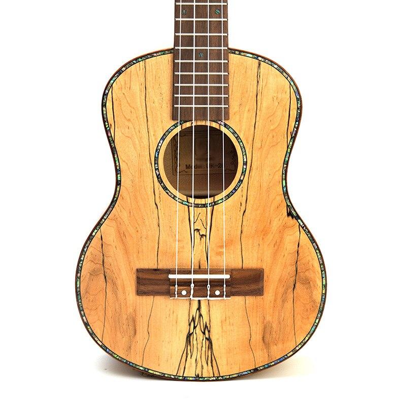 Ukulélé 23 pouces acoustique électrique Concert ténor Deadwood Mini guitare 4 cordes Ukelele Guitarra Uke Pick Up - 3