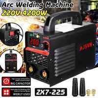 Nowy 220V regulowany 20A-225A 4200W ręczny falownik igbt spawacz łukowy spawarka cyfrowy wyświetlacz Mini przenośne narzędzie spawalnicze