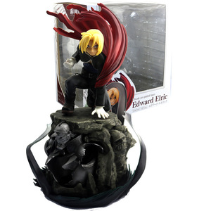 Image 2 - Edward Elric Fullmetal alchimiste Alphonse Elric figurine japonais Anime PVC adulte figurines jouets figurines danime jouet
