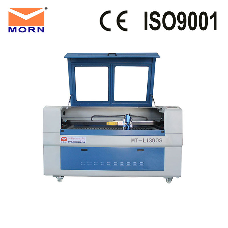 130W Reci laser tube CO2 laser mix cutting machine metal cutter 1390 + CW5000 water chiller