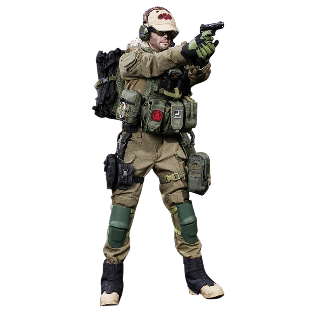 1/6 Scale FLAGSET Israeli Special Forces Movable Action Figure 12'' Collectable Military Soldier Model Toys for Birthday Gift-에서액션 & 장난감 숫자부터 완구 & 취미 의  그룹 1