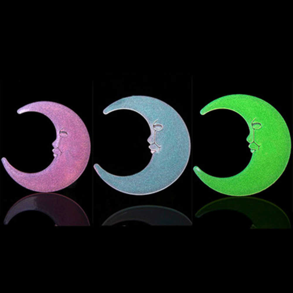 Creative Moon Glow In The Dark Wall Stickers For Kids Room living Room Luminous Wall Decal Home Decoration Poster
