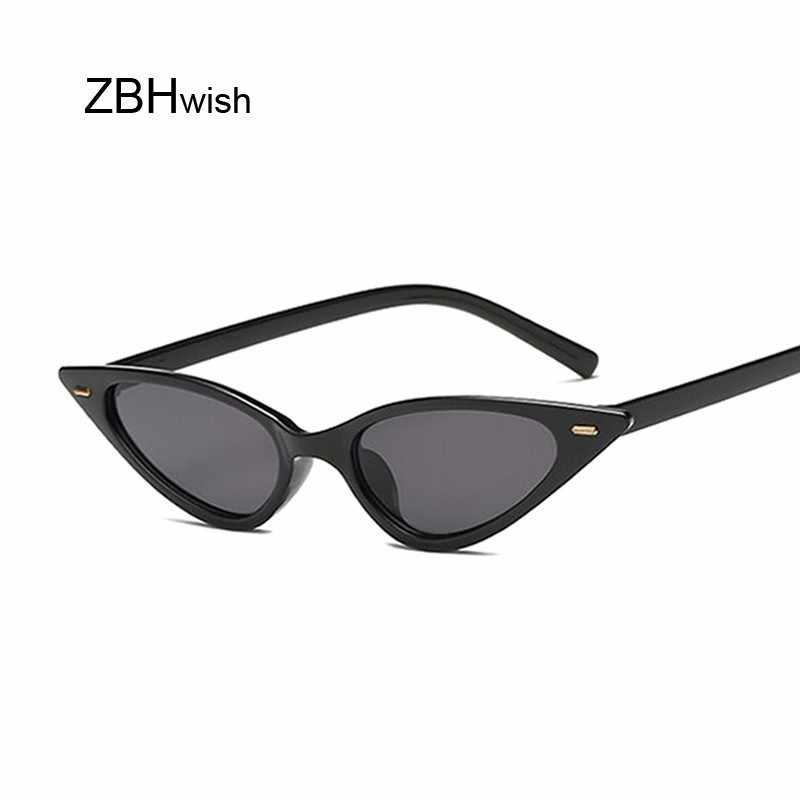c57409418e2 Sexy Cat Eye Sunglasses Women Brand Designer Mirror Sun Glasses Ladies  Cateye Lens Shades For Female