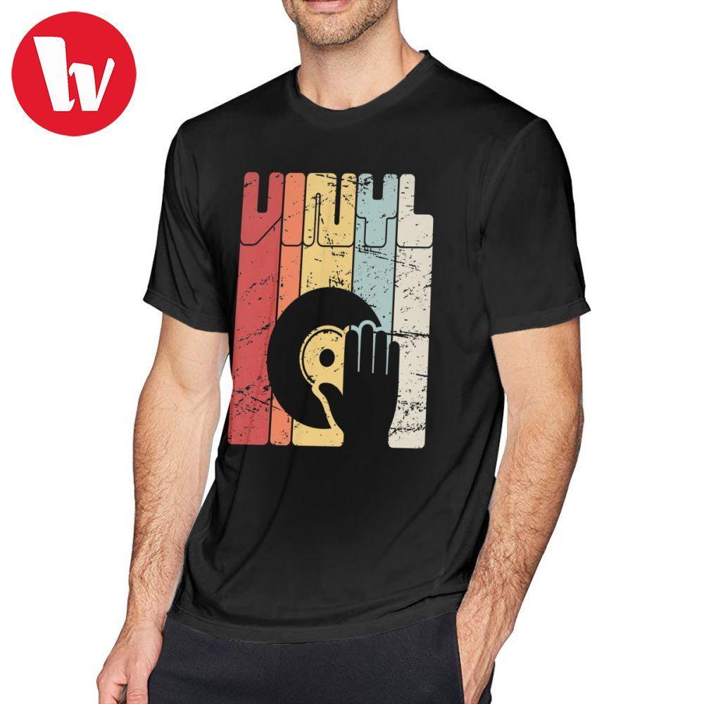 f54a1312 US $11.54 37% OFF|Dj Turntable T Shirt Retro Vinyl Record Turntable T Shirt  Cotton Short Sleeve Tee Shirt XXX Fun Male Beach Print Tshirt-in T-Shirts  ...