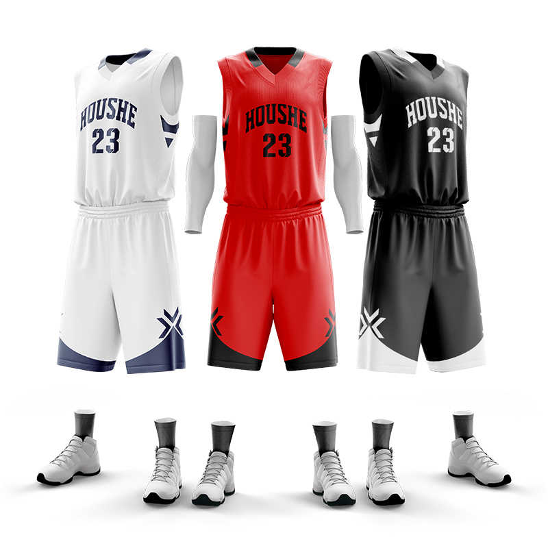 Basketball Jersey Men Custom Basketball Uniforms Polyester Quick Dry Basketball Shirt Shorts Sports Suit Print Name Number Logos