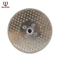 1Pc 5 Electroplated Diamond Cutting Disc Saw Blade M14 Granite Marble Cutting Grinding