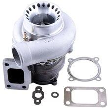 Turbocompresor Universal GT35 GT3582 TURBO AR .63 T3 brida GT3540 3.0L 6.0L, Turbolader antisobretensiones, 600HP