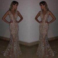MUXU fashion sexy sequined long dress glitter dress sexy party dresses silver sequin vestidos jurken robe femme kleider elbise