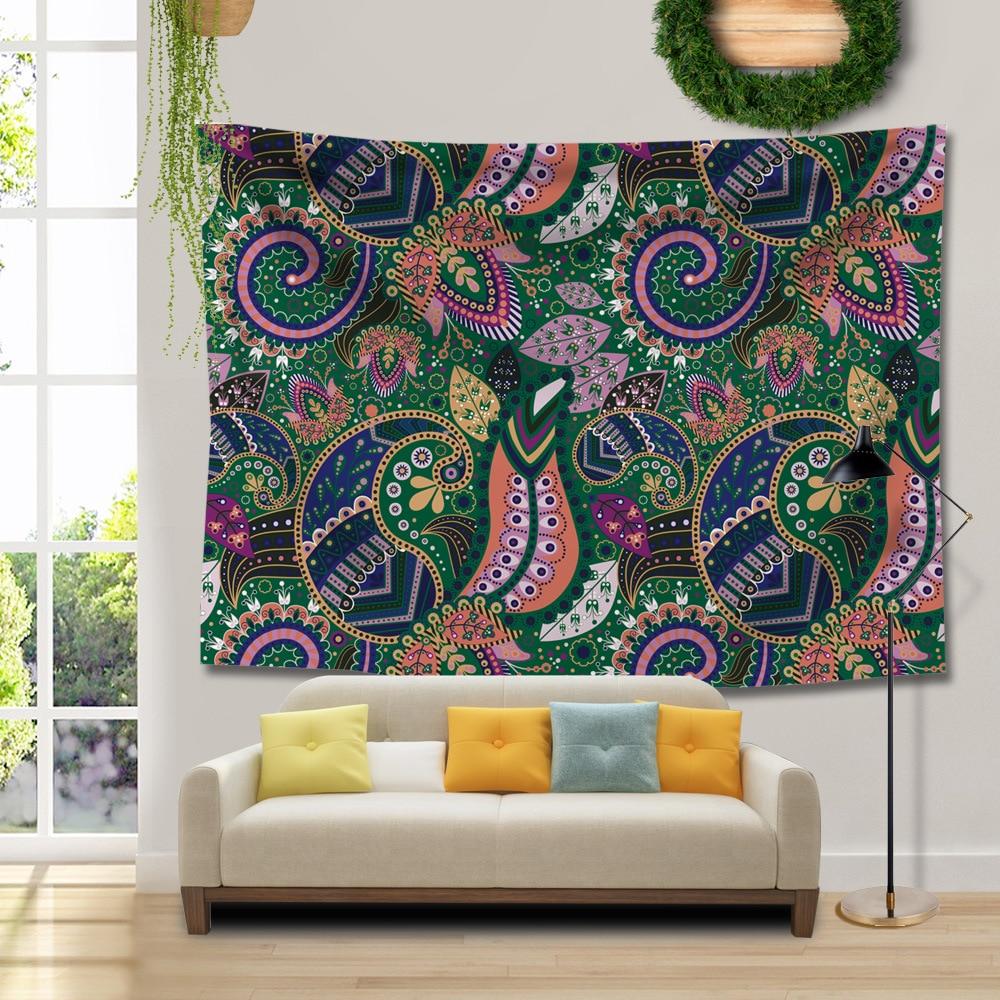 Nordic Mandala Tapestry Thin Blanket Hippie Yoga Mats Wall