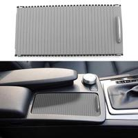 VODOOL Car Center Console Cover Slide Roller Blind For Mercedes Benz C Class W204 E Class W212 Auto Water Cup Rack Storage Trim