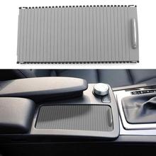 VODOOL Автомобиля Крышка центральной консоли слайд шторка для Mercedes Benz C-Class W204 E-класс W212 авто воды чашка-держатель для хранения отделкой