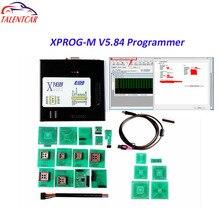 2018 горячая Распродажа последняя версия XPROG 5,84 Black Metal Box ЭКЮ программист XPROG-M V5.72 Upgarde Xprog М V5.60 Xprog 5,70 V5.74