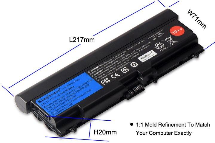 KingSener Corée Cellulaire Nouvel Ordinateur Portable batterie pour lenovo ThinkPad T430 T430I T530 T530I W530 SL430 SL530 L430 L530 45N1007 45N1006 - 3