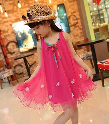 Emmababy เด็กสาวฤดูร้อนชุดเจ้าหญิงพรรคดอกไม้ประกวดชุดเสื้อผ้า