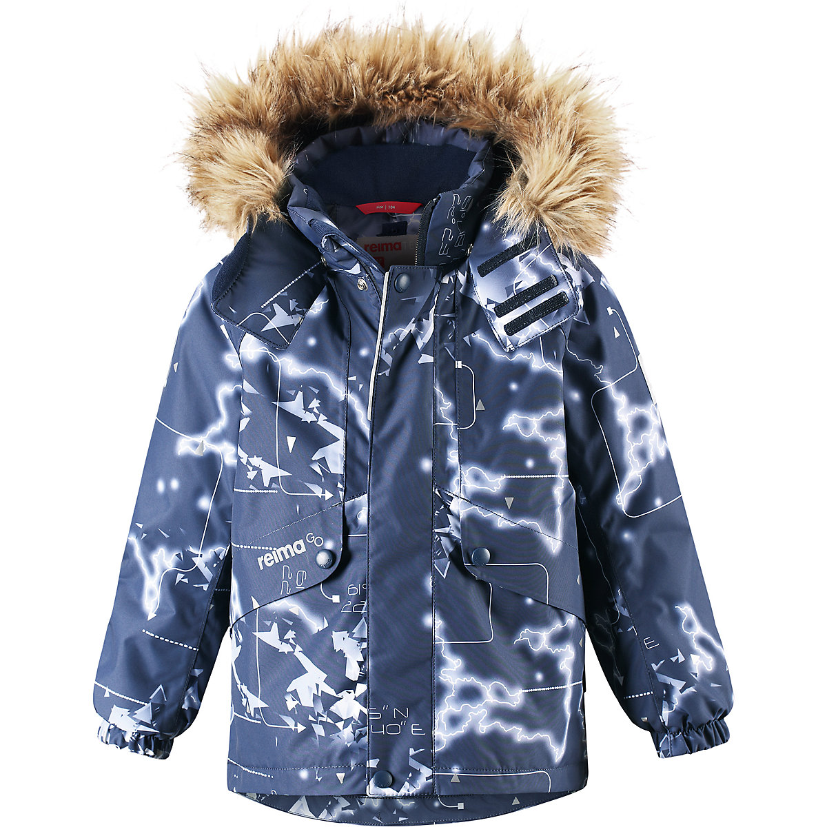 REIMA Jackets 8689663 For boys and girls Polyester  winter fur baby clothing boy girl Jacket duhan motorcycle jacket motocross jacket moto men windproof cold proof clothing motorbike protective gear for winter autumn