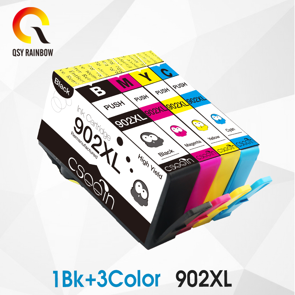 CMYK SUPPPLIES Compatible for HP 902 902XL ink cartridge for HP OfficeJet Pro 6954 6960 6962 6968 6975 6978 6961 printers|Ink Cartridges| |  - title=