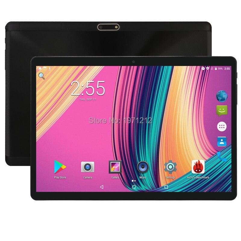 10 pouce tablet Soutien Youtube Octa Core 4 gb RAM 64 gb ROM 3g 4g FDD LTE Téléphone appel Android 8.0 Tablet GPS WIFI 1280X800 IPS Pad