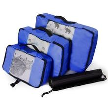 Compression Packing Cube Luggage Organizer/Double Zip/Female/Men's/Children's/Foldable/Large Capacity/Nylon Travel Bag Organizer