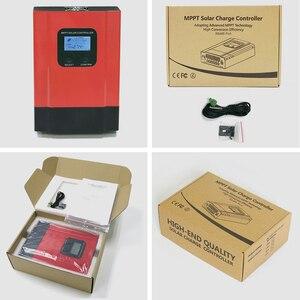 Image 5 - Контроллер заряда солнечной батареи ESmart3 с ЖК дисплеем 40 А 60 А, максимальный В постоянного тока с RS485 и датчиком температуры батареи 12 В/24 В/36 В/48 в