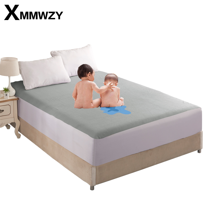 Towel Fabric TPU Waterproof Layer Waterproof and Prevent Osmosis Fitted Sheet Full Surrounded Protection Mattress