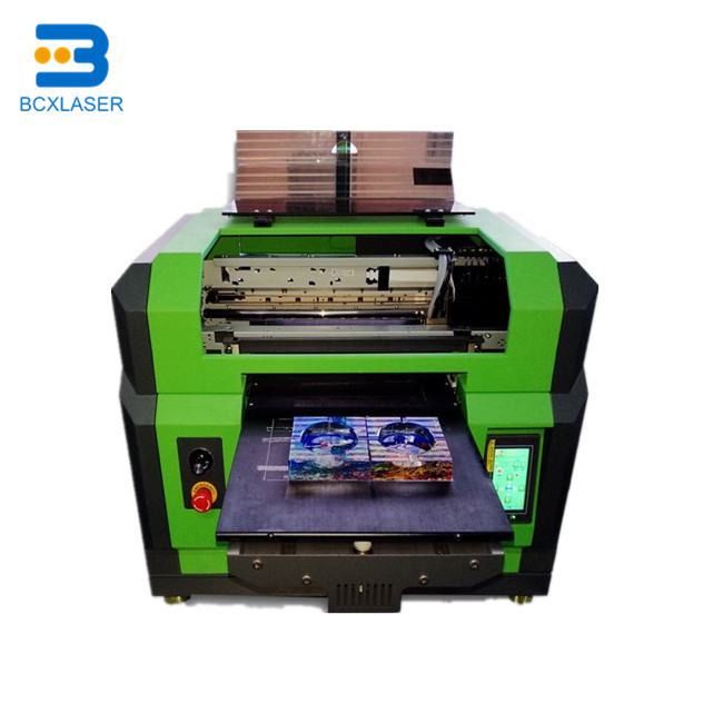 Digital Logo Label Photo Flatbed 3D T Shirt Clothes A4  Printer With Tray