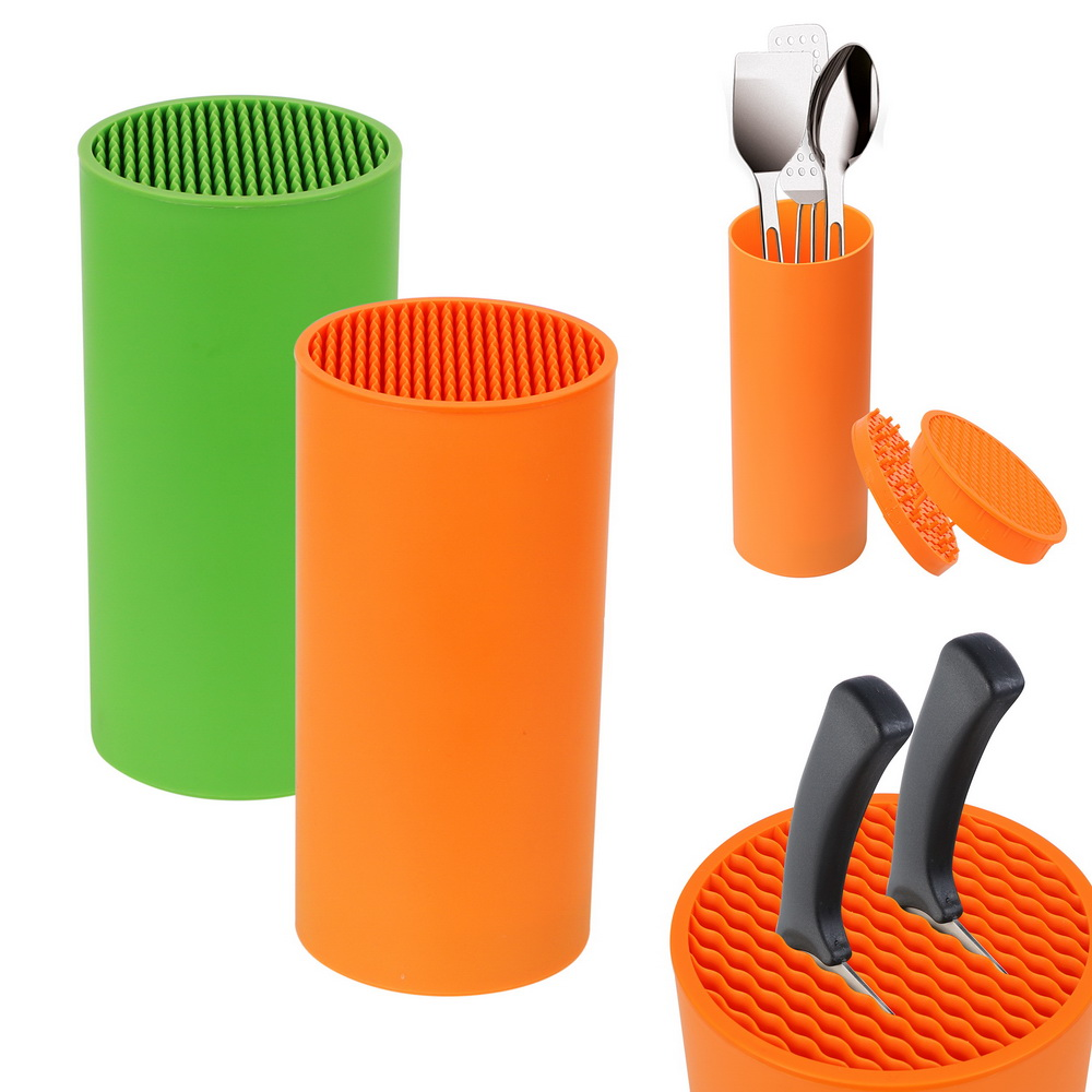 Knife Stand Organizer PP Resin Multifunctional Cooking Tools Kitchen Bar Knife Storage Block Knife Tool Holder Rack High Quality