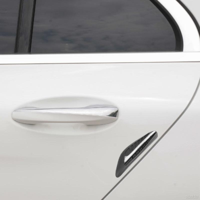 4pcs Car Side Door Edge Guard Strip Anti-collision Anti-rub Scratch Protect Bumper Strips Universal Car-styling Stickers