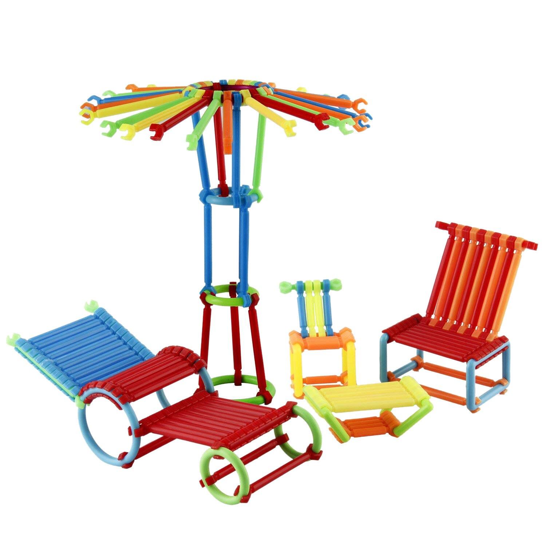 480 Stuks Van Kinderen Educatief Speelgoed Gestapelde Speelgoed Set, Grijpende Bouw Set, Niet Giftig Clip Verbinding Constructi
