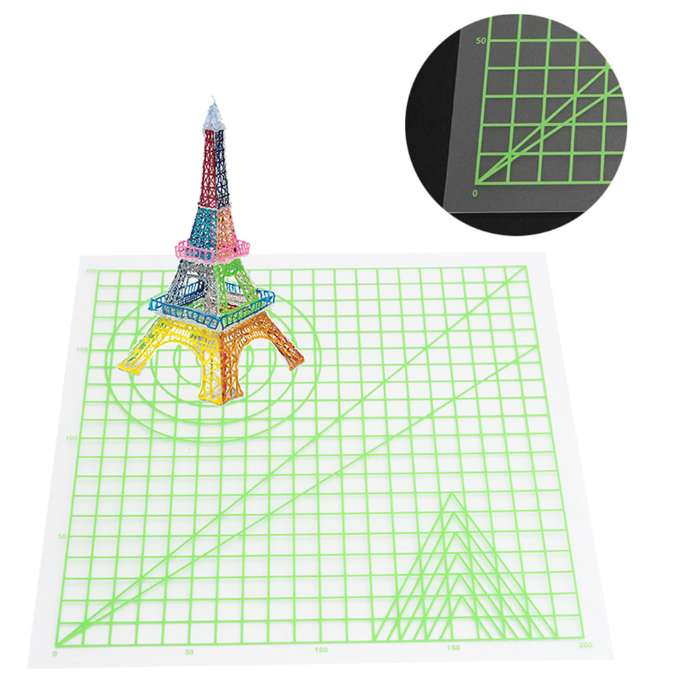 Multi-shaped Silicone Design Mat Create 3D Objects For 3D Printing Pen Basic Template Art Supplies Drawing Tool Gift #20
