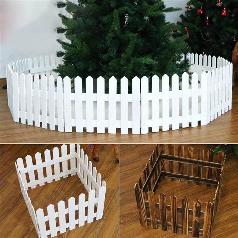 Christmas Dollhouse Decorations.1 6m Creative Decorative Picket Fence Diy Dollhouse