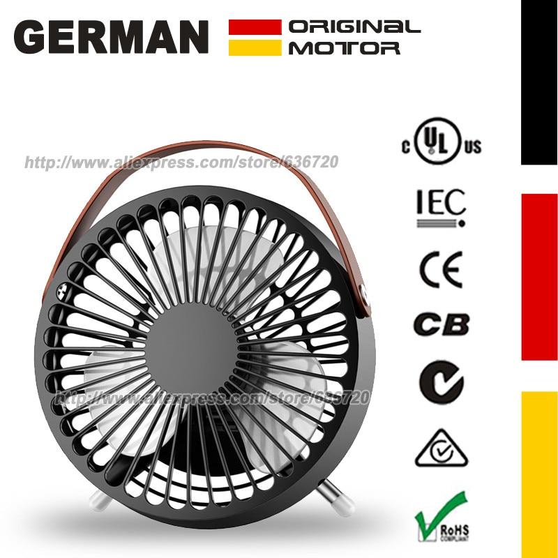 Schwarz Elegantes Und Robustes Paket 5,5 powered Tabelle Fan Für Persönliche Kühlung Dc5v 2 W Vintage Desktop Usb Air Fan Systematisch Komfort Retro Tisch Fan
