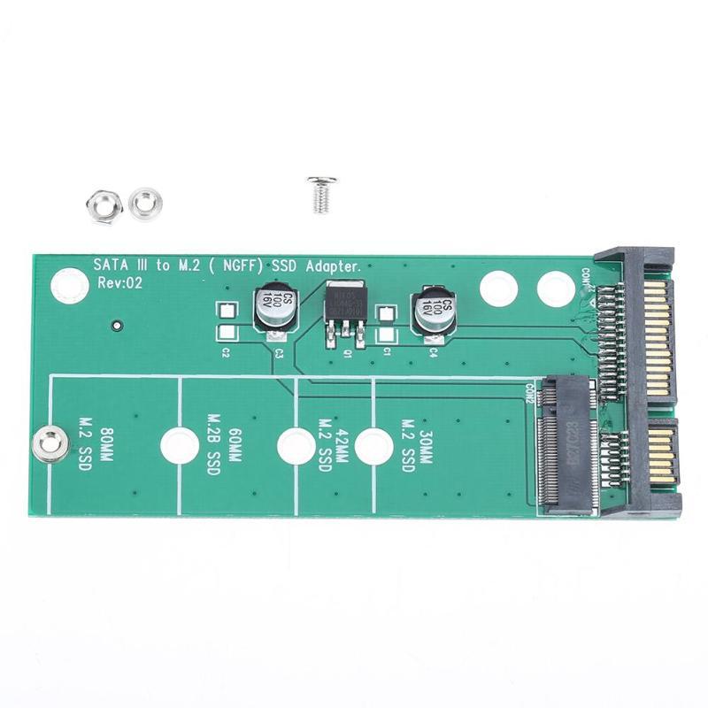 Ssd Zu Sata 3 Sata 2,5 Adapter Konverter Karte Mit Werkzeuge Farben Sind AuffäLlig sata Aktiv M.2 Ngff
