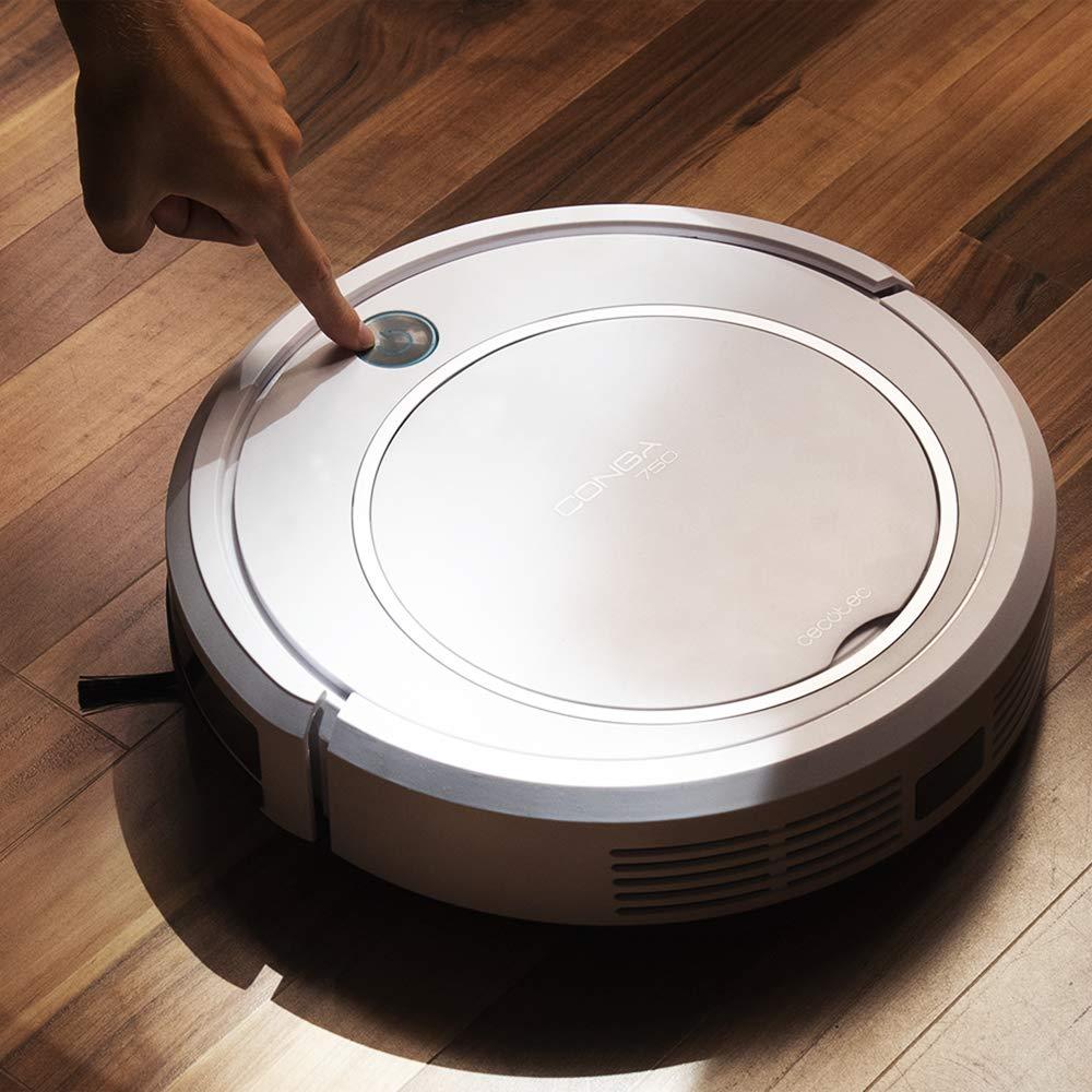 Cocotec robô aspirador de pó série conga 750 inteligente para casa profissional robô 4 em 1 grande potência sucção - 2