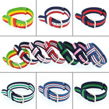 Buy 2 Get 10% Off 20mm Nylon Watch Strap Nato Watchbands Watch Bracelet Woven Sport Watch Bands Pulseira Correas Reloj Diy WB001 buy 2 get 10% off 20mm wholesale stripe cambo solid black watch 20 mm nato fabric nylon watchbands strap bands buckle
