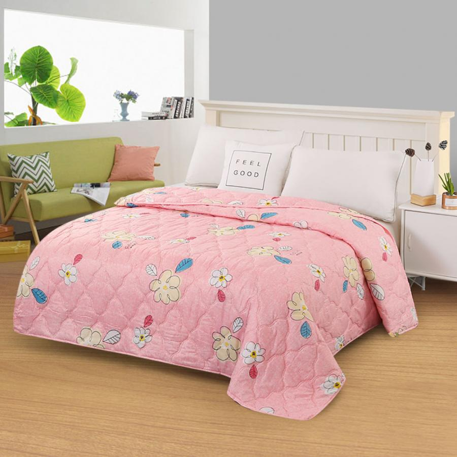 New Modern Polyester Bedspread Summer Quilt Blanket Comforter Bed Cover Quilting Home Textiles Suitable For Children Adult