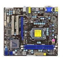 Для материнской платы ASRock H61M/U3S3 системная плата H61 слот LGA1155 DDR3 материнская плата SATA2 USB2.0 Поддержка I3 I5 I7