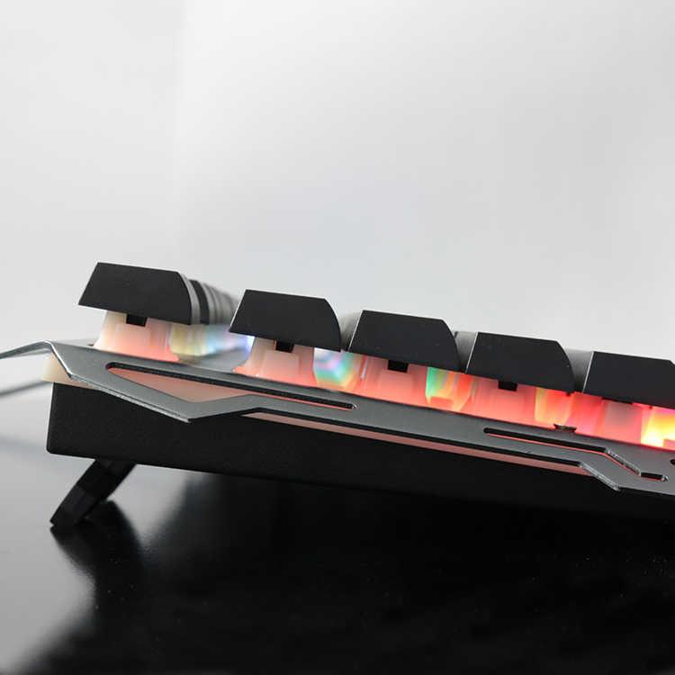 IMice игровая клавиатура 104 ключей с подсветкой клавиатуры проводная USB водостойкая Игровая клавиатура Механическая геймерская клавиатура