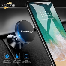 KISSCASE Magnetic Car Phone Holder For iPhone X Mobile Support voiture Stand Magnet Smartphone