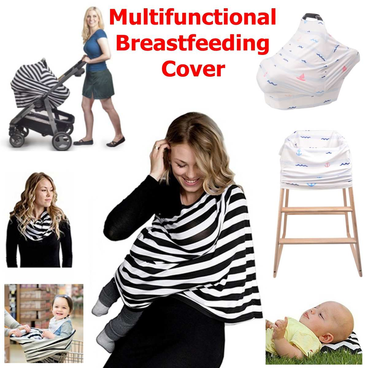 f6531d6841a Detail Feedback Questions about Newborn Baby Nurse garment Materity Cotton Nursing  Cover Women Udder Covers Breast feeding Baby Blanket Baby Stretchy Car ...