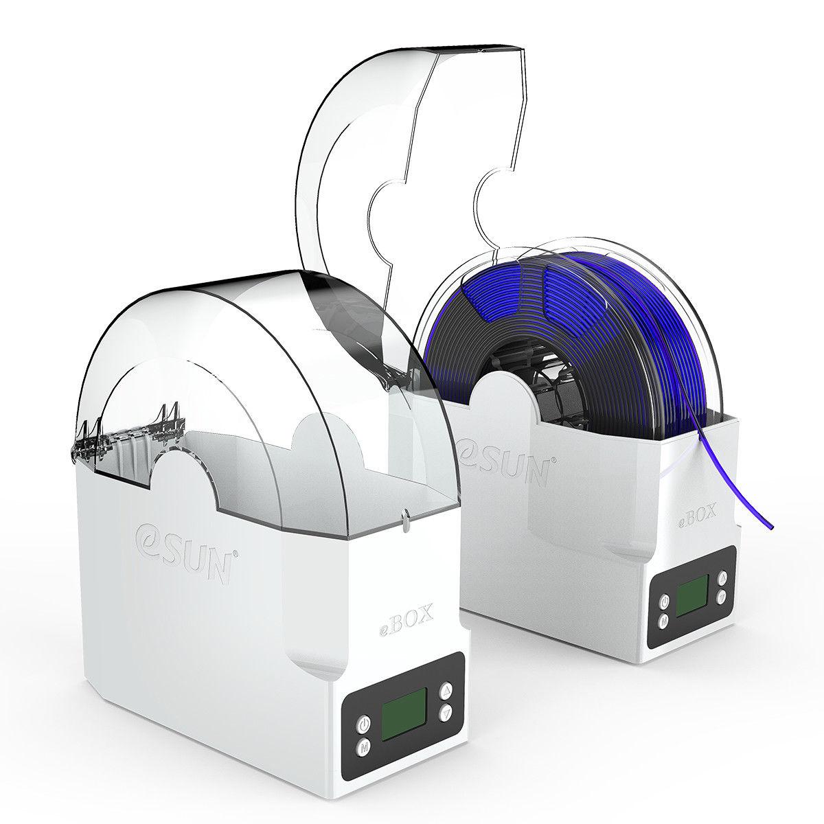 Boîte de Filament d'impression 3D eSUN eBOX, déshydrater garder le Filament au sec et mesurer le poids, boîte de stockage de Filament - 4