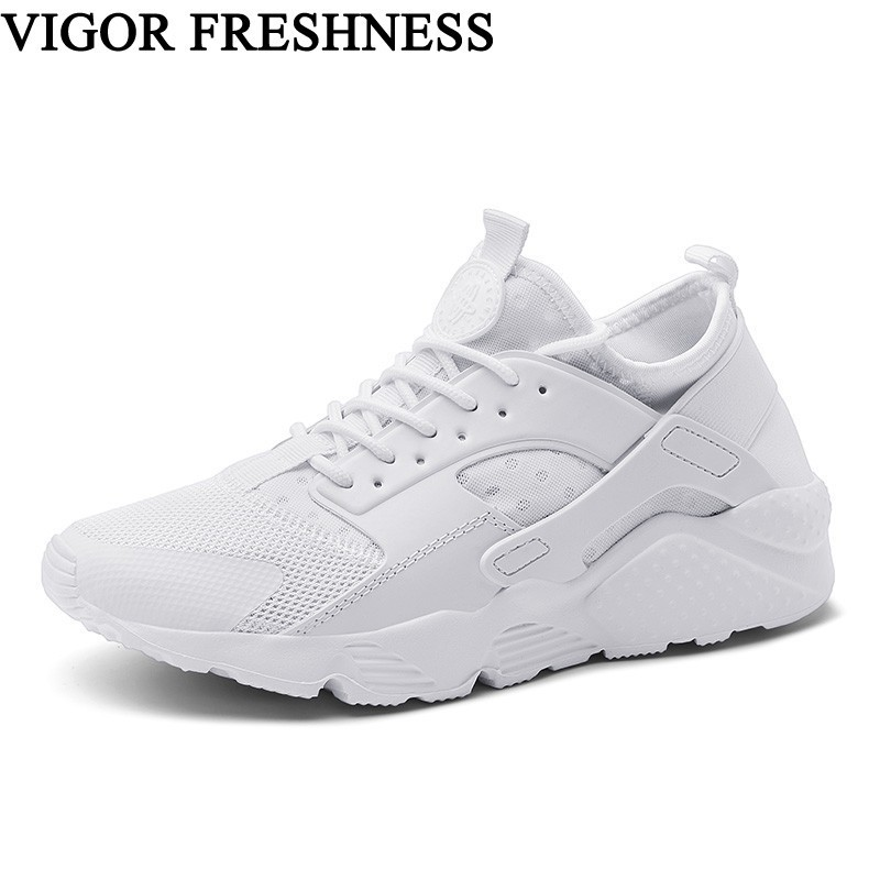 Temperate Vigor Freshness Shoes Women Sneakers Tennis Shoes Mesh White Sneakers Spring Shoes Autumn Womens Breathable Sneakers Flat S71 Women's Shoes
