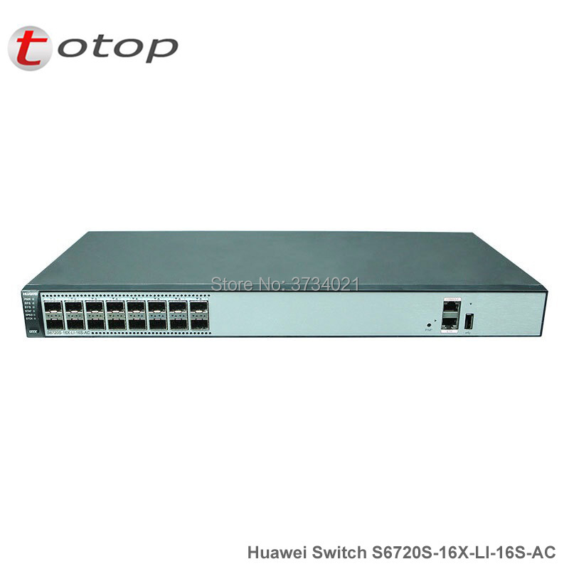Cheapest Huawei 10G Switch S6720S-16X-LI-16S-AC 16 Port 10GE SFP+ Switch AC Power Supply Huawei Networks SwitchCheapest Huawei 10G Switch S6720S-16X-LI-16S-AC 16 Port 10GE SFP+ Switch AC Power Supply Huawei Networks Switch