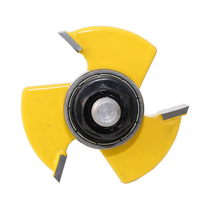 Image 5 - 3 Tooth T Tenon Type Combine Knife Puzzle Knife Floor Knife Carpentry Milling Cutter Carving Machine Cutter Head Exit