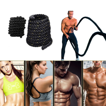 Battle Ropes: Sports Fitness Equipment For Workout