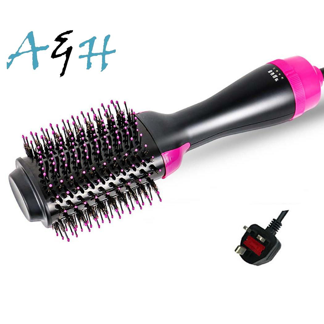 Electric Hair Brush Negative Ion Hair Straightener 1000 W Curler Home, Hotel, etc. Hair 550g Dryer 110-220 VElectric Hair Brush Negative Ion Hair Straightener 1000 W Curler Home, Hotel, etc. Hair 550g Dryer 110-220 V