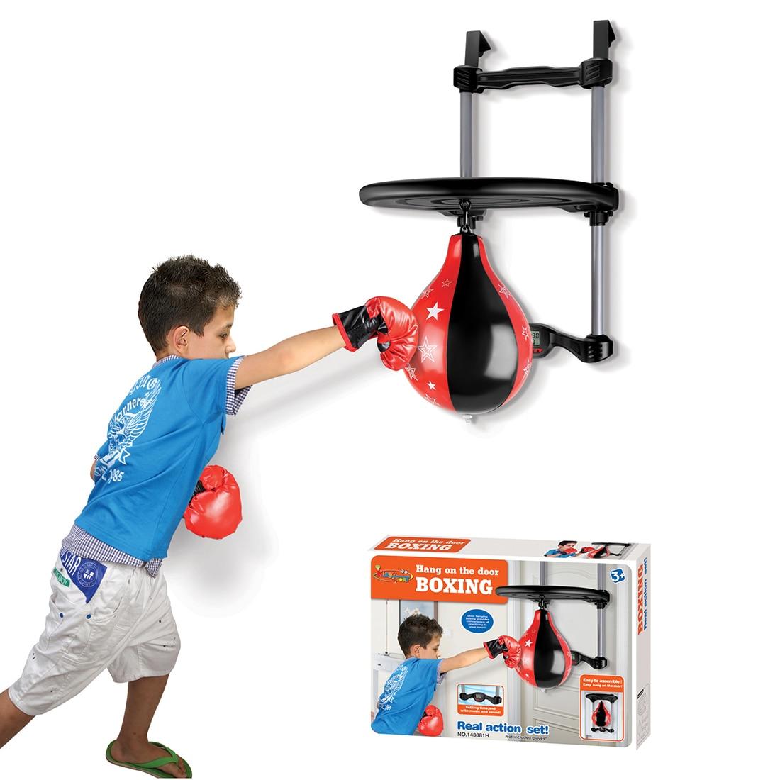 Pendentif Type enfants balle de boxe en plein air jouets équipement de Fitness sport balle de boxe jouets pour enfants